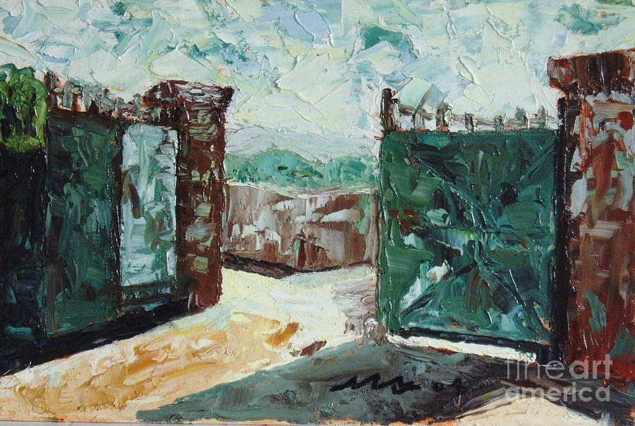 Gate2 Painting by Seon-Jeong Kim