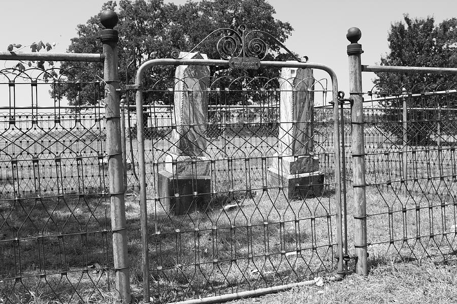 Gate Photograph - Gated by PhotoPhotopia Melody Fulton