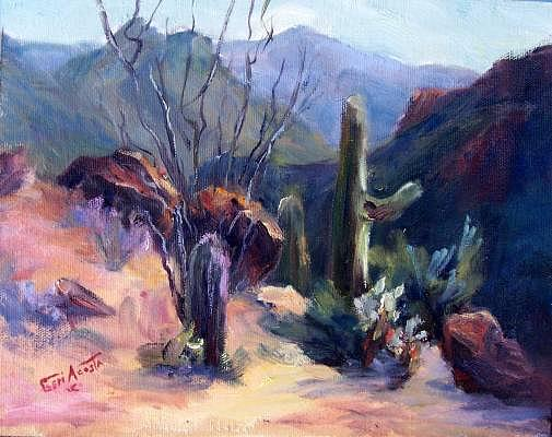 Gates Pass Painting by Geri Acosta