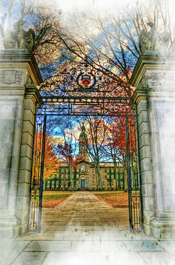 Gates To Knowledge Princeton University Photograph