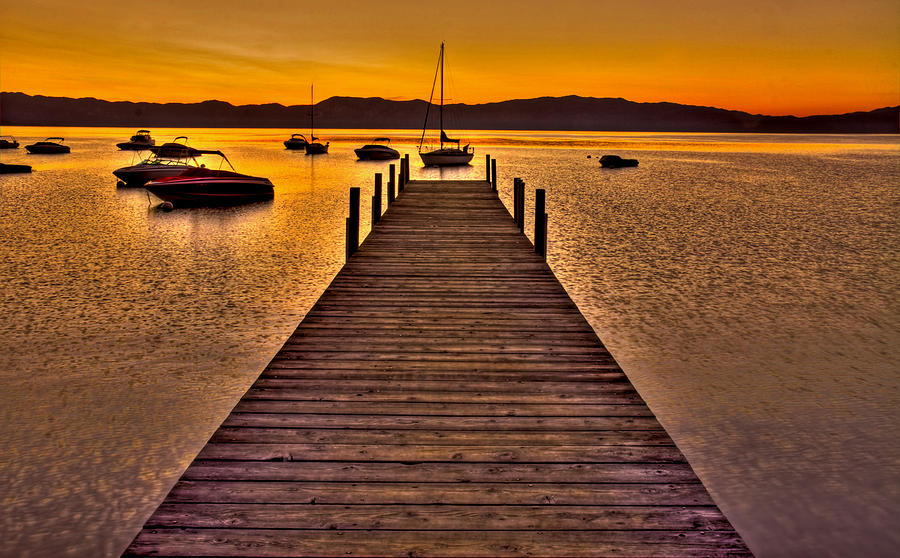 Lake Tahoe Photograph - Gateway by Scott Mahon