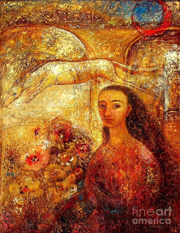 Portrait Painting - Gateway by Shijun Munns