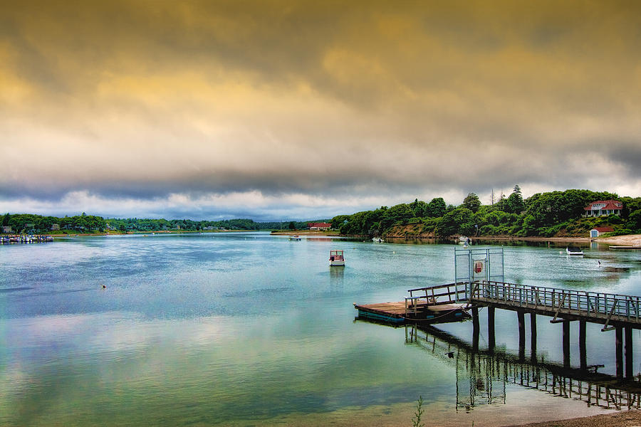 Waterscape Photograph - Gateway To The Cape by Gina Cormier