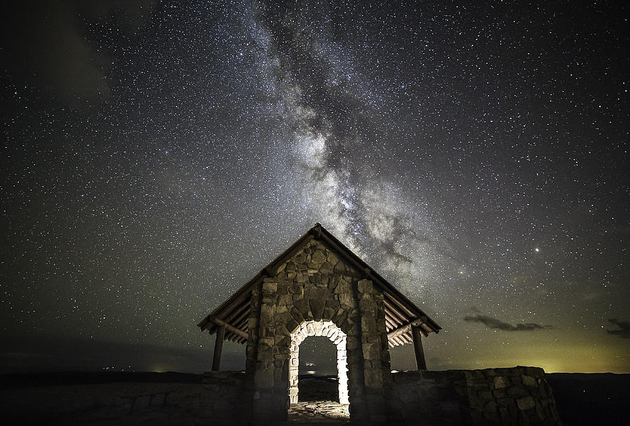 Cedar Breaks National Monument Photograph - Gateway To The Stars by Tony Fuentes