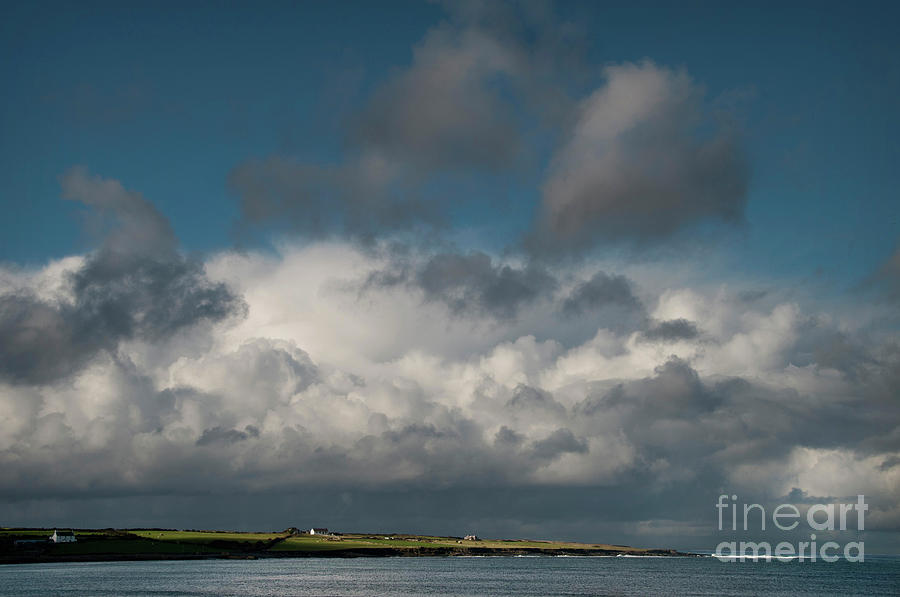Ireland Photograph - Gathering Clouds by Marion Galt