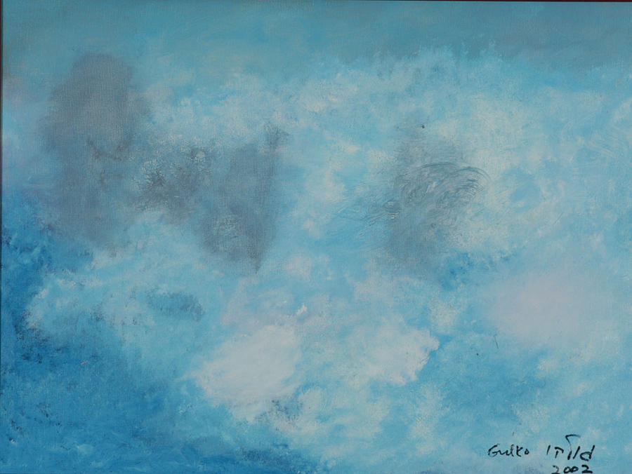 Clouds Painting - Gathering Storm by Harris Gulko