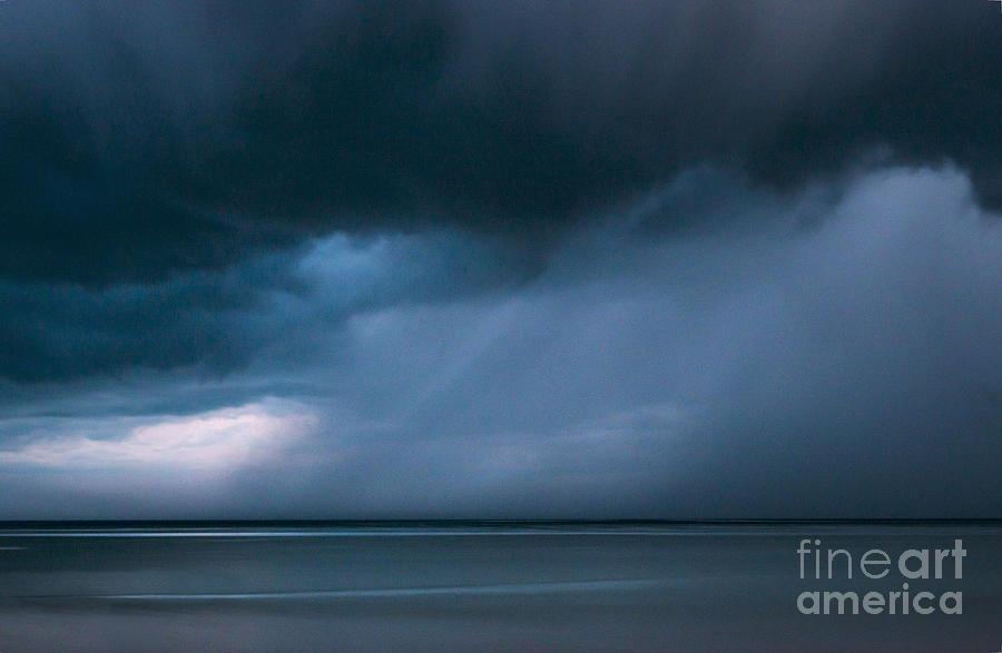 New England Photograph - Gathering Storm by John Greim