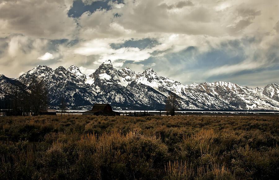 Grand Tetons Photograph - Gathering Storm by Robert  McCord