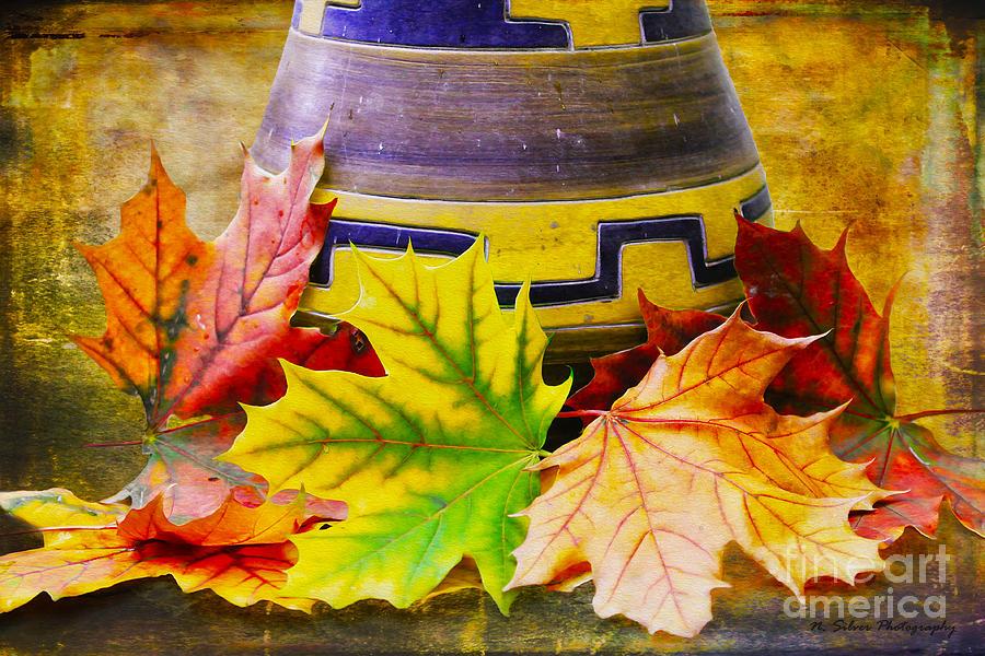 Fall Photograph - Gatherings by Nina Silver