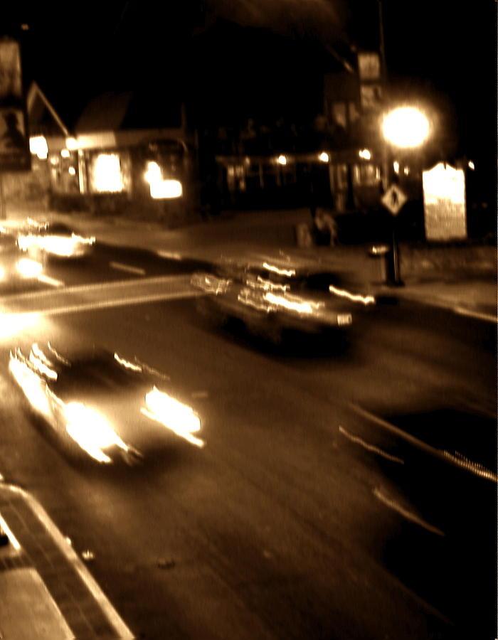 Gatlinburg Photograph - Gatlinburg At Night by Utopia Concepts