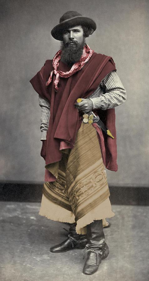 Gaucho Argentino 1868 Photograph by Mario Carta