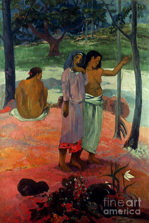 1902 Photograph - Gauguin: Call, 1902 by Granger