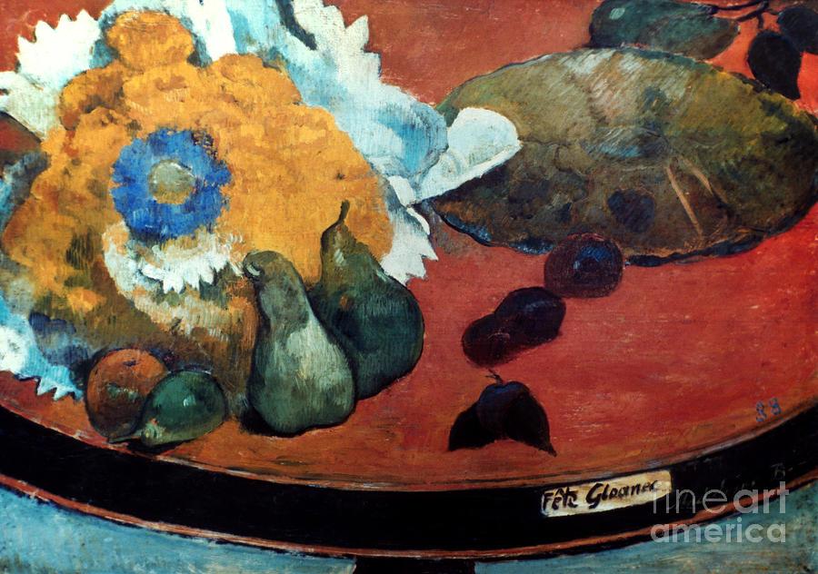 1888 Photograph - Gauguin: Fete Gloanec, 1888 by Granger
