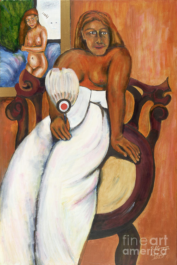 Gauguin Painting - Gauguin Foregrounded by Neil Trapp