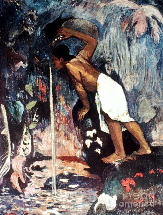 1893 Photograph - Gauguin: Pape Moe, 1892 by Granger