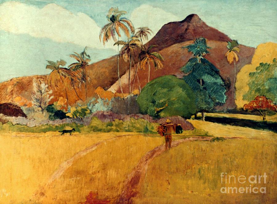 1891 Photograph - Gauguin: Tahiti, 1891 by Granger