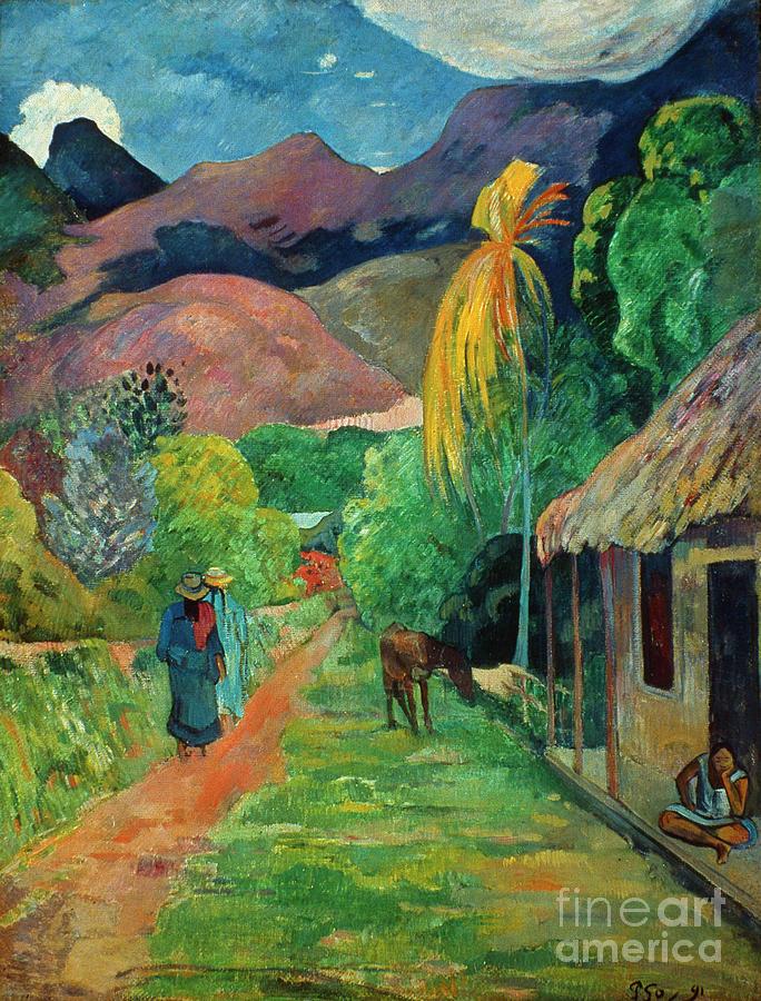 19th Century Photograph - Gauguin Tahiti 19th Century by Granger