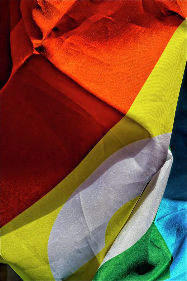 Pride Flag Photograph - Gay Pride 2017 Nyc Pride Flag by Robert Ullmann