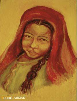 Bastl Painting - Gdamsip by Soaad Ahmad