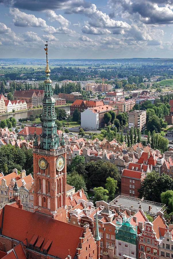 Architecture Photograph - Gdansk by Jaroslaw Grudzinski