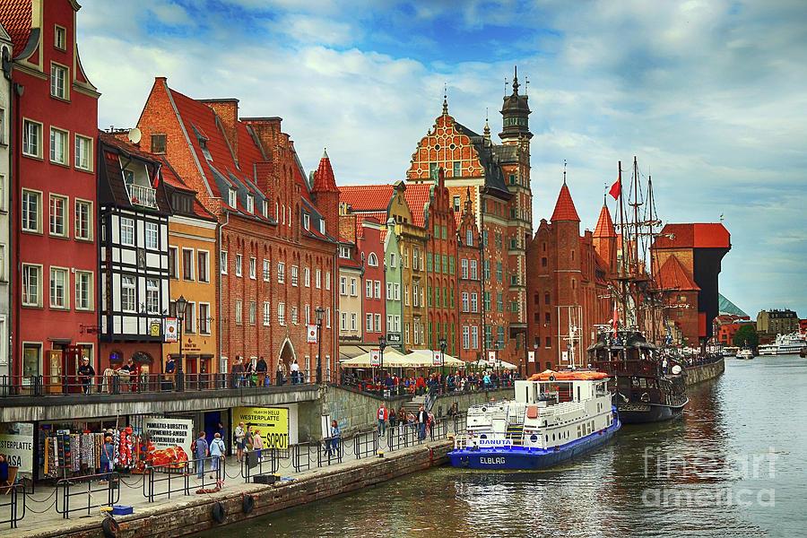 Gdansk Old Town by Teresa Zieba