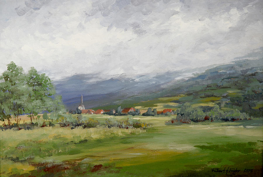 France Painting - Ge, France by Robert Foster
