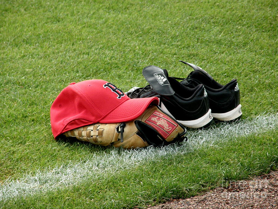 Boston Red Sox Photograph - Gear At Rest by Carol Christopher