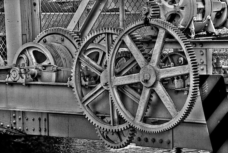 Miami Springs Photograph - Gears by William Wetmore