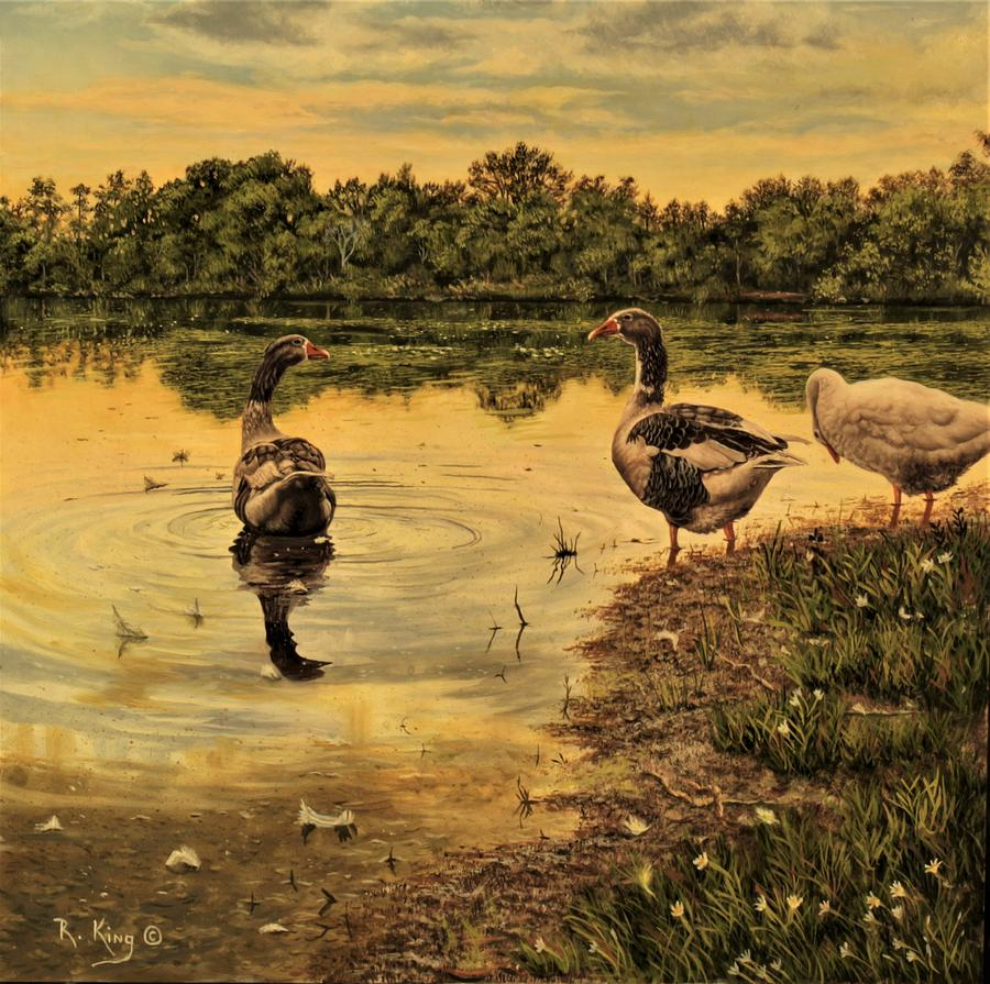 Geese by Roena King