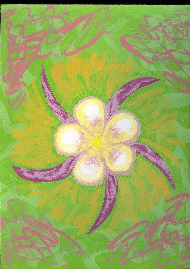 Flower Painting - Geisha by Laura Lillo