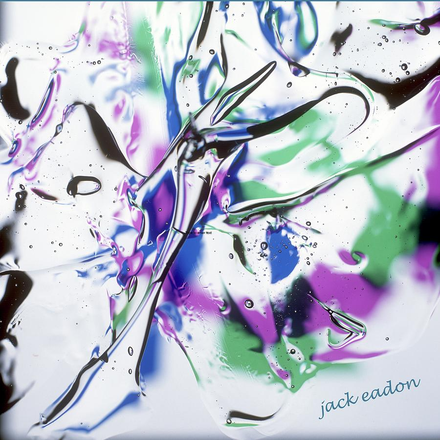 Square Photograph - Gel Art #12 by Jack Eadon