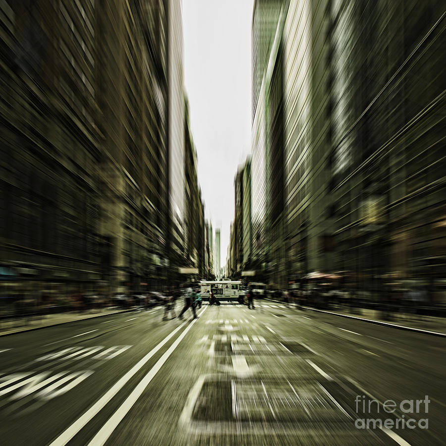 Manhattan Photograph - Gelati Rush by Andrew Paranavitana