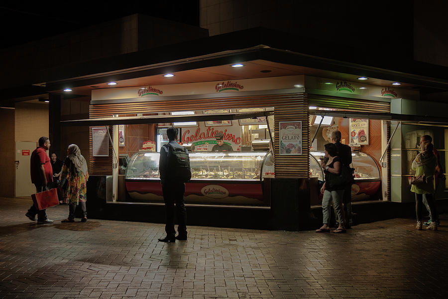 Gelato by Night by Rich Isaacman