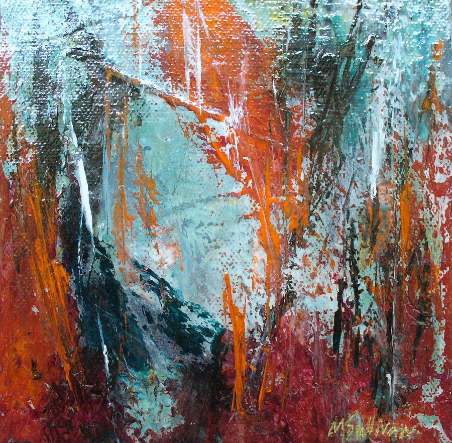 Contemporary Painting - Gemini by Mary Sullivan