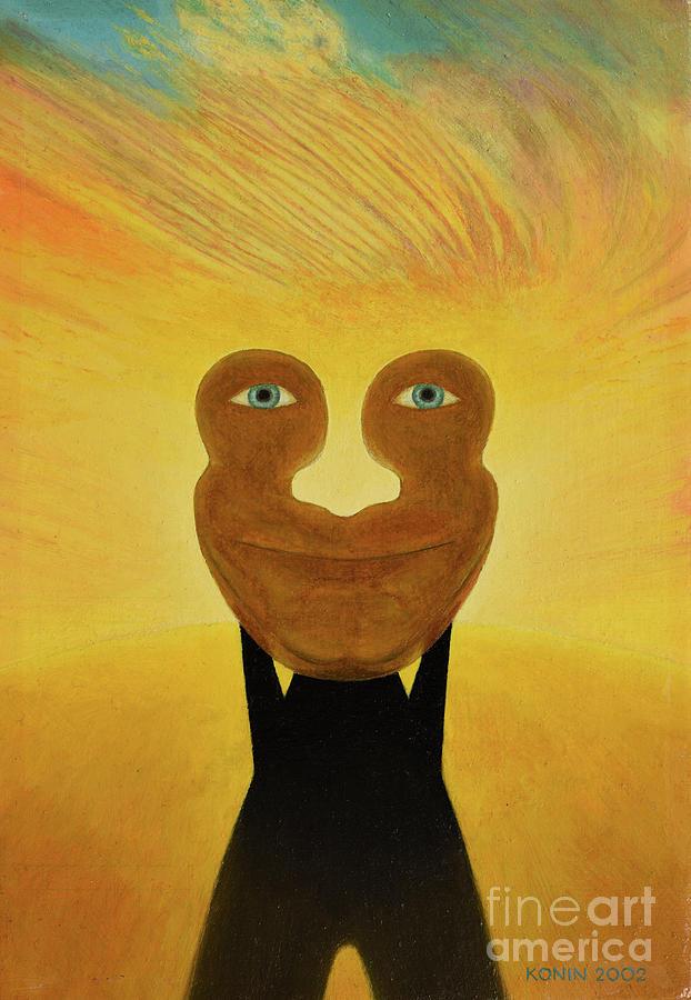 Face Painting - Gemini. Self-portrait by Oleg Konin