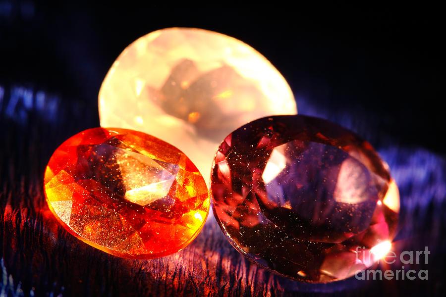 Gems Photograph - Gems by Gaspar Avila