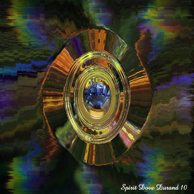 Christmas Digital Art - Gemstone For Christmas by Spirit Dove  Durand