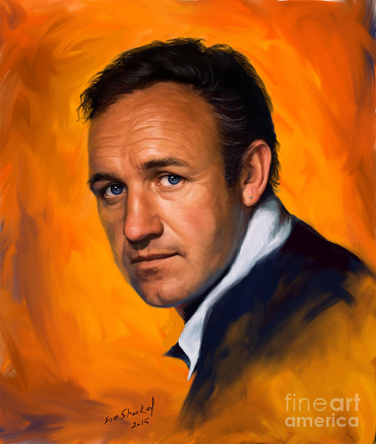 Pictures Of Gene Hackmans Paintings