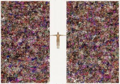 Human Painting - Gene Pool by Peter Schwartz