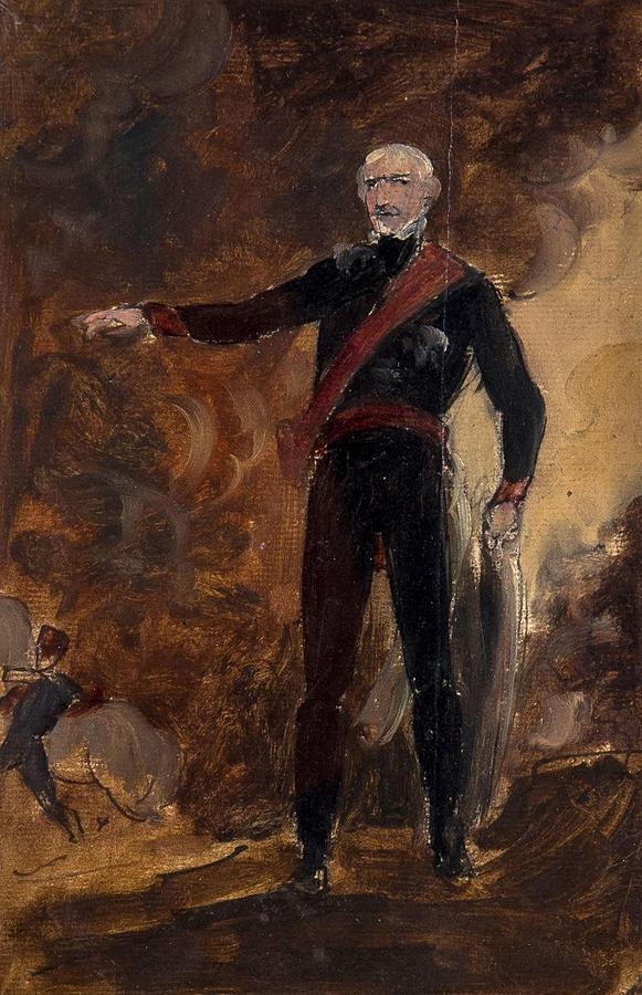 General Gebhard Leberecht Von Blucher Painting