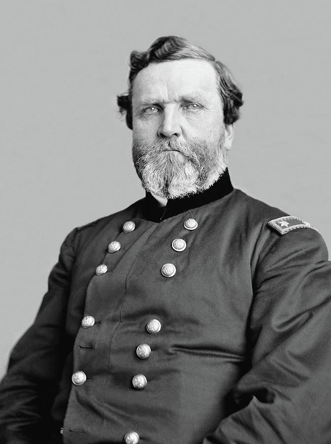 George Thomas Photograph - General George Thomas by War Is Hell Store