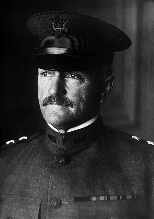 General Pershing Photograph - General John Pershing Portrait by War Is Hell Store