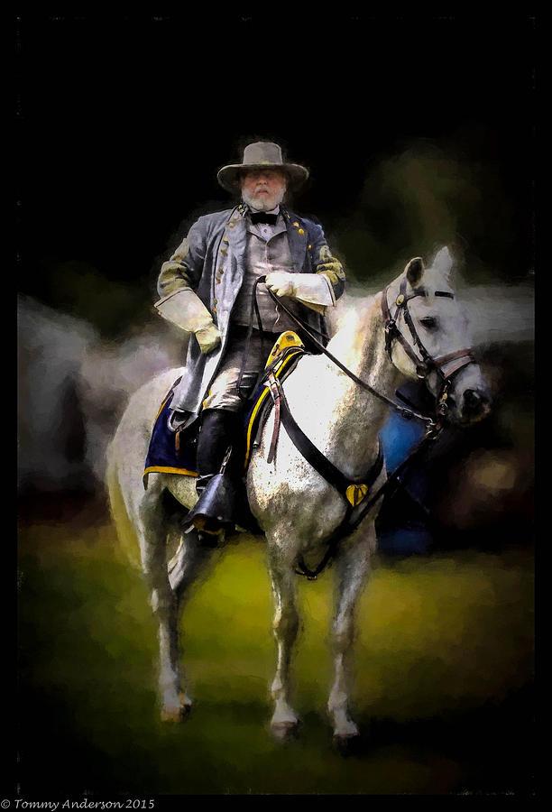 General Lee And Traveller Digital Art