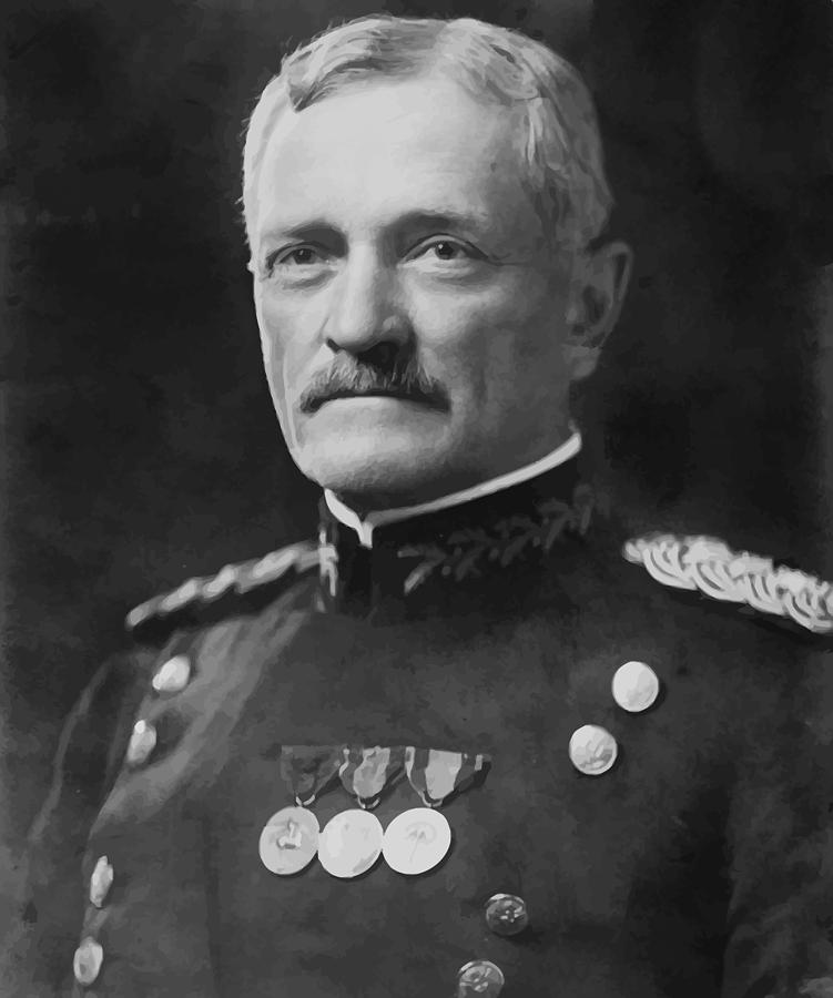 General Pershing Painting - General Pershing by War Is Hell Store