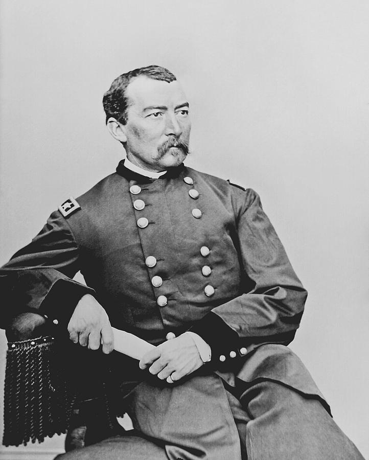 Philip Sheridan Photograph - General Phil Sheridan by War Is Hell Store
