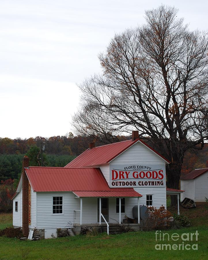Landscape Photograph - General Store by Eric Liller