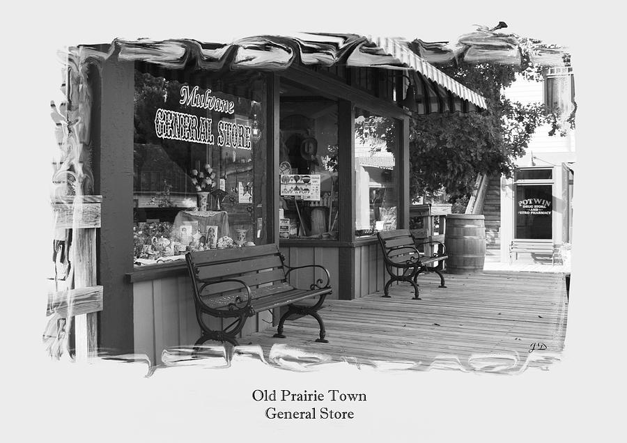 Old Store Photograph - General Store by Jim  Darnall