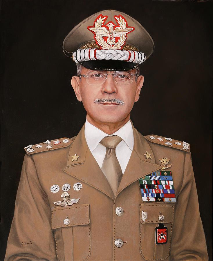 General Painting - Generale Danilo Errico by Guido Borelli