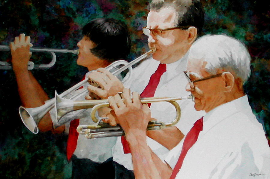 Music Painting - Generations by Faye Ziegler