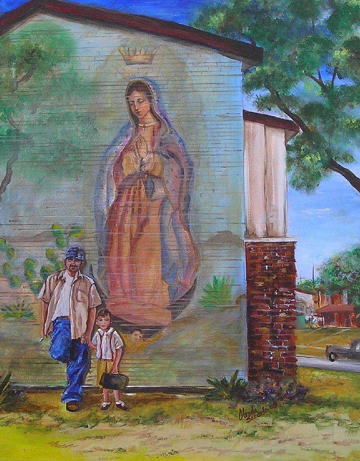 Heritage Painting - Generations by Glenda Saucedo